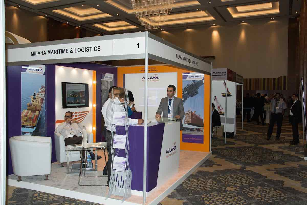Milaha discusses emerging maritime trade trends, port modernization at The 11th Trans Middle East 2015