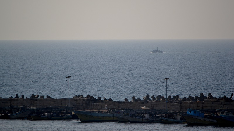 Gaza says said to be readying a seaport for international movement
