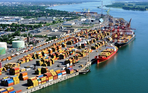 Montreal's quarterly boxes up 8pc to 326,571 TEU, now 41pc of total