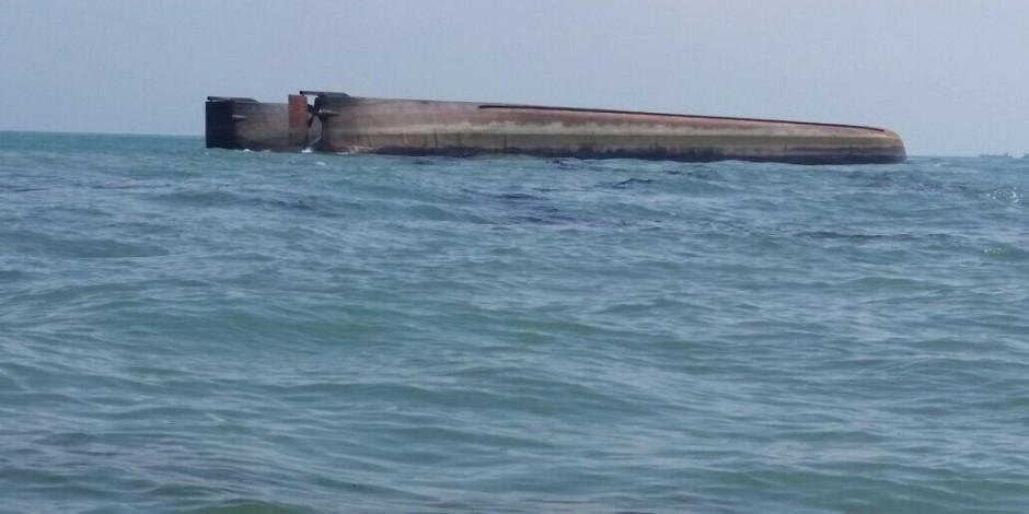 "Dredger ""Ocean Line 208"" capsized, 14 feared dead"
