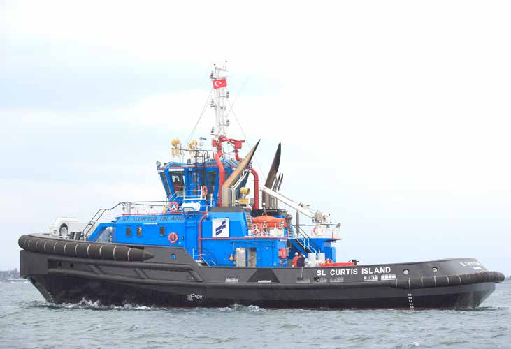 Sanmar delivers 5 tugs to Gladstone