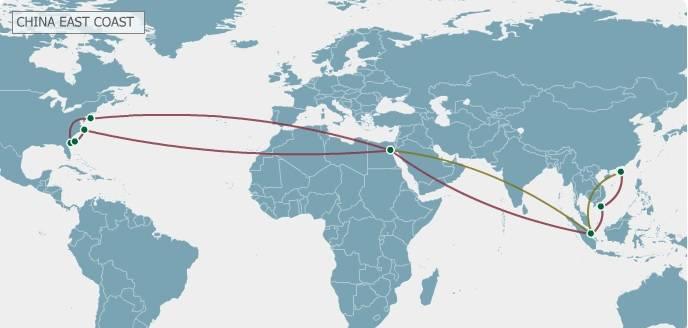 New Asia-US east coast Zim Seven Star Express loop sails May 29