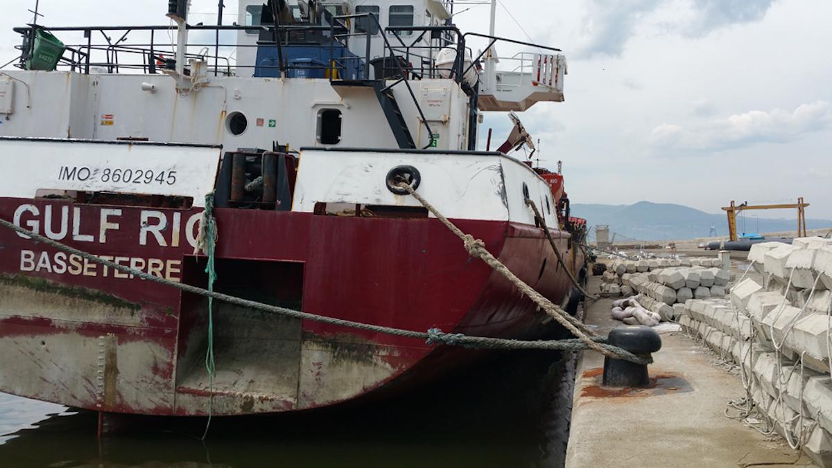 M/V GULF RIO Refloated by Aras Salvage