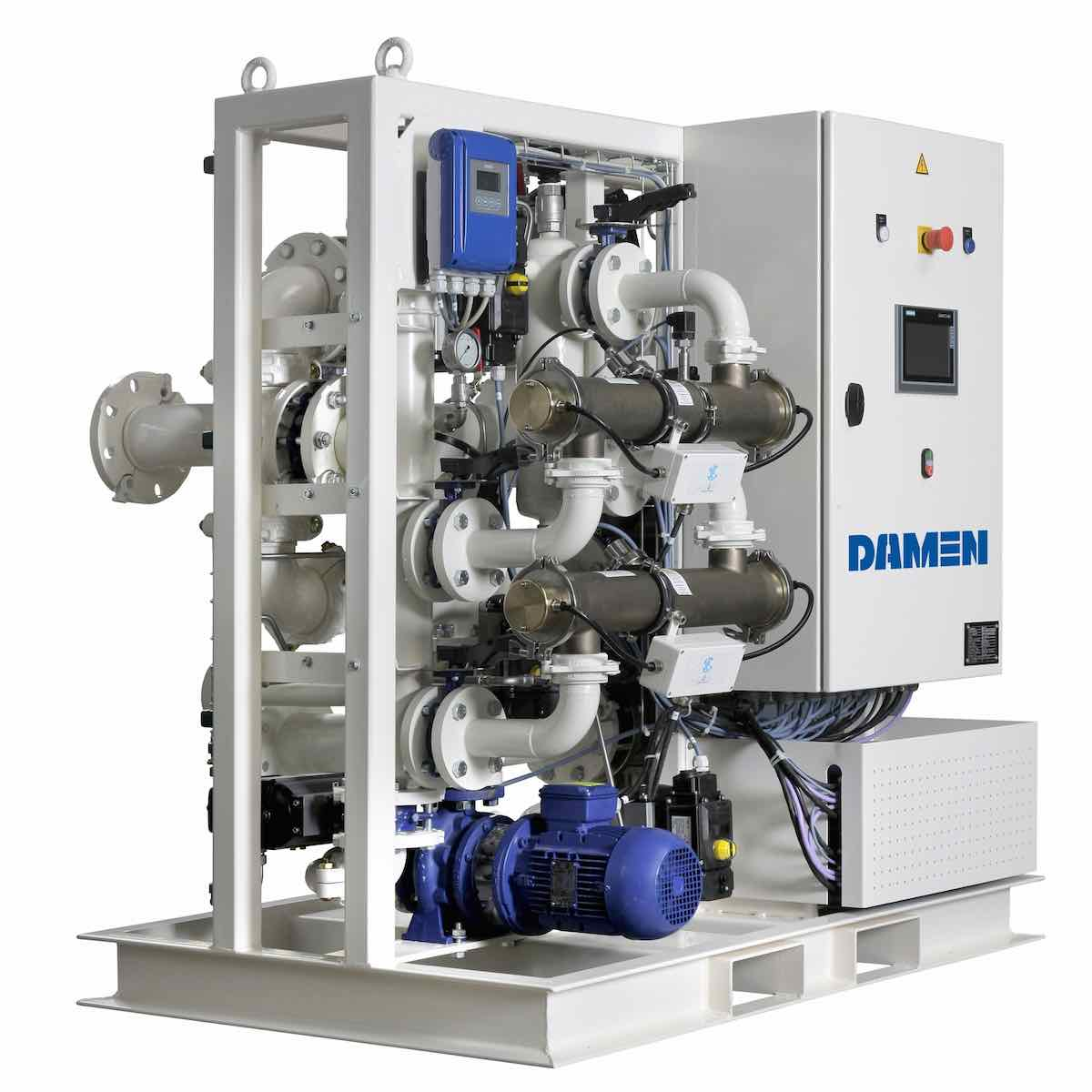 New Damen solutions for ballast water treatment retrofitting