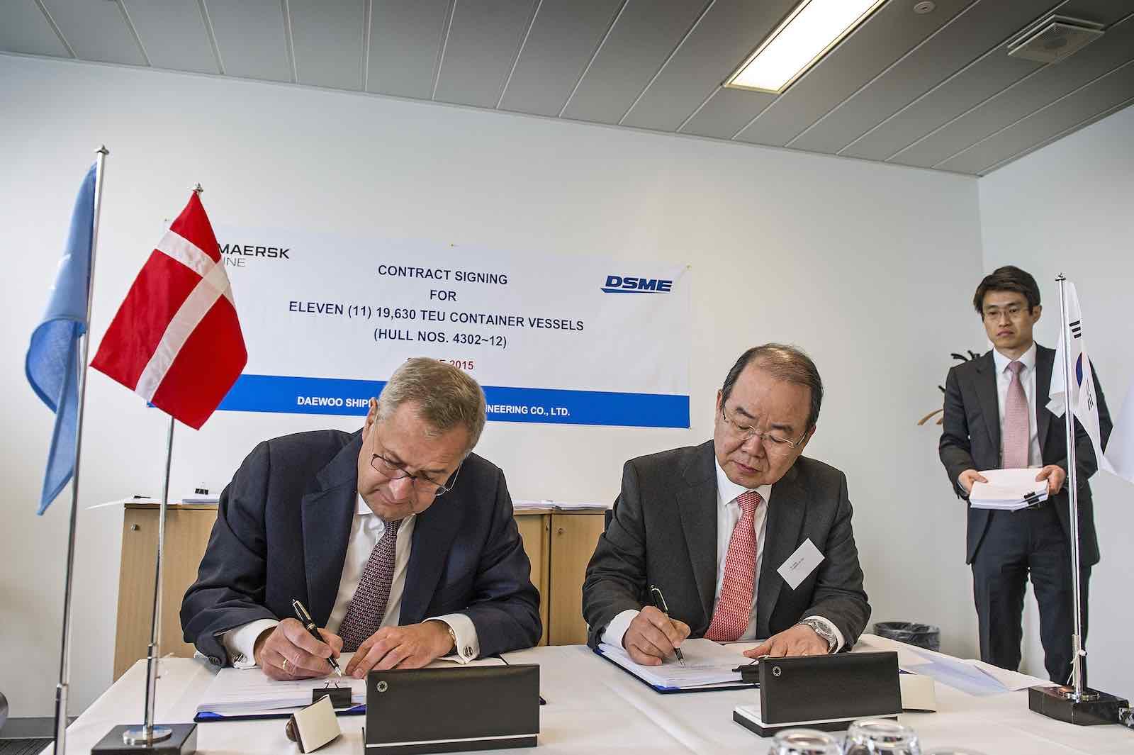 Maersk Line orders eleven 19,630-TEU ships