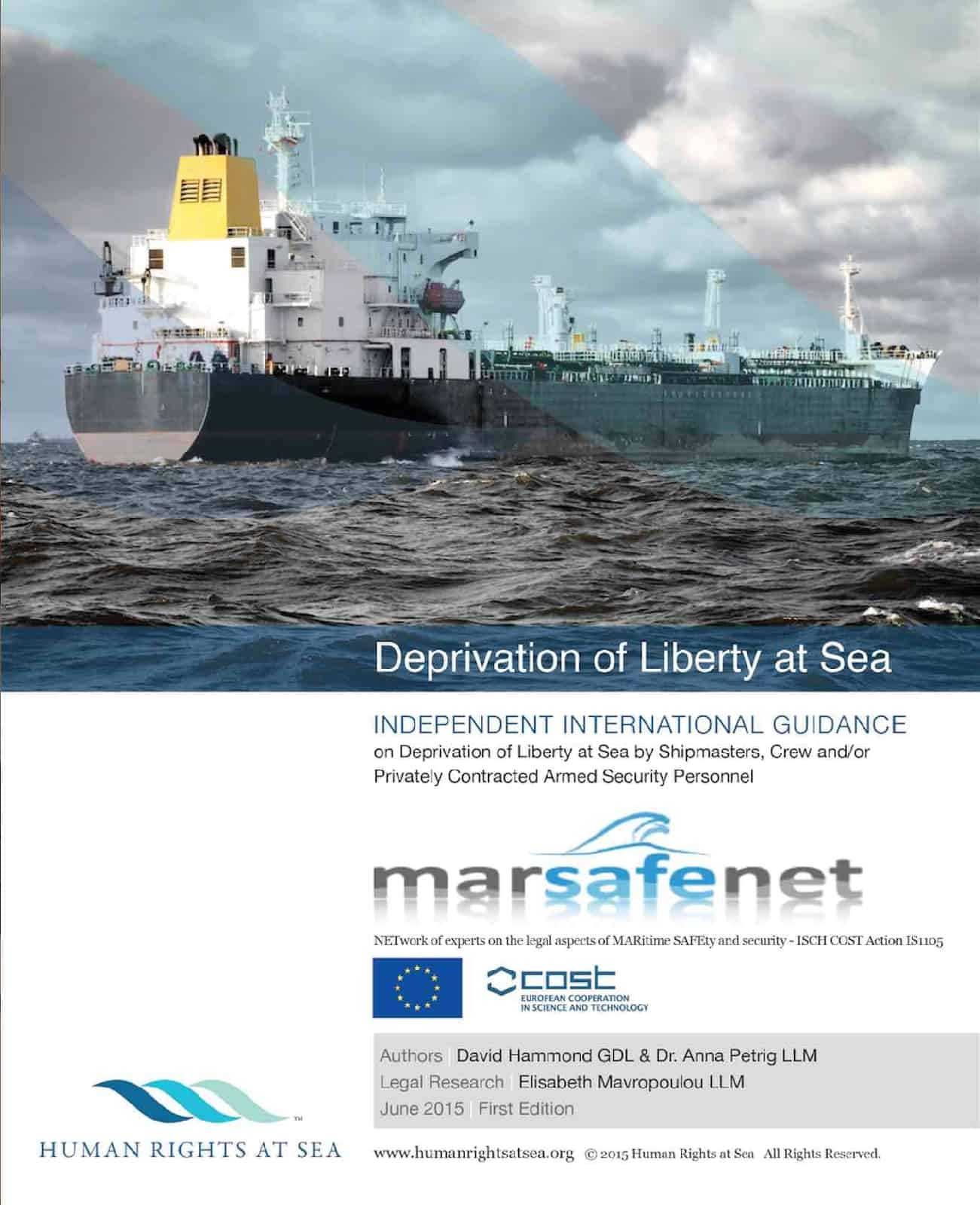 Deprivation of Liberty at Sea International Guidance