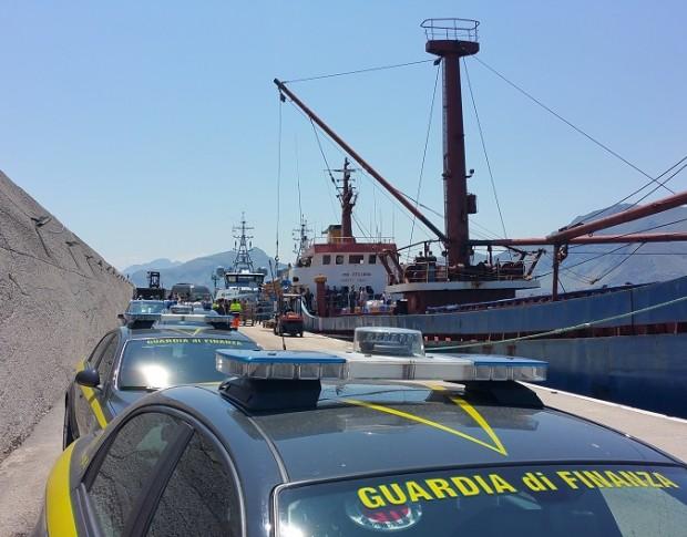 Hashish of Euro 40 Million seized on Turkish ship Meryem