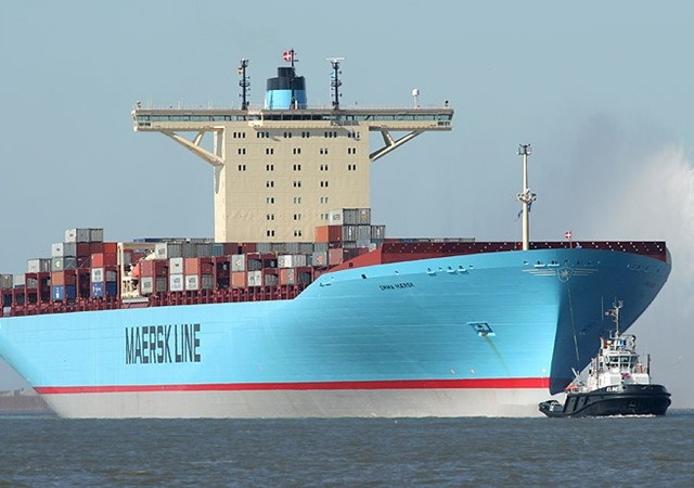 Maersk rejects OECD view that mega ships generate minimal savings
