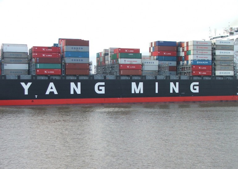 Seaspan takes delivery of YM Winner, third 14,000-TEU SAVER ship