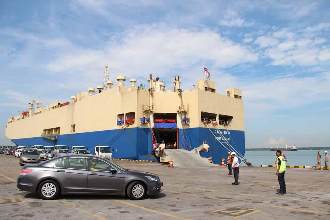 Malaysia's KLB launches 2,500-vehicle car carrier, Zarah Sofia