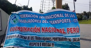 Peruvian dockers back to work after 3-week strike at APMT terminal