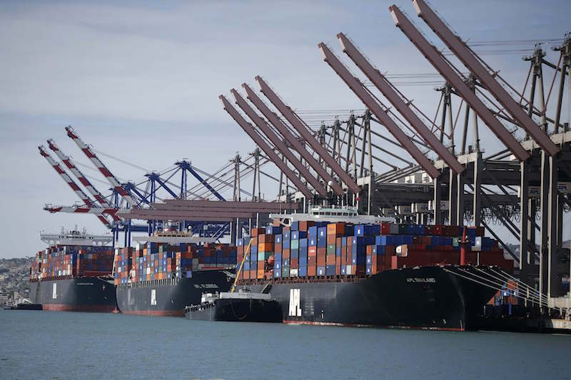 US west coast volumes near normal, but east coast fails to hold gains