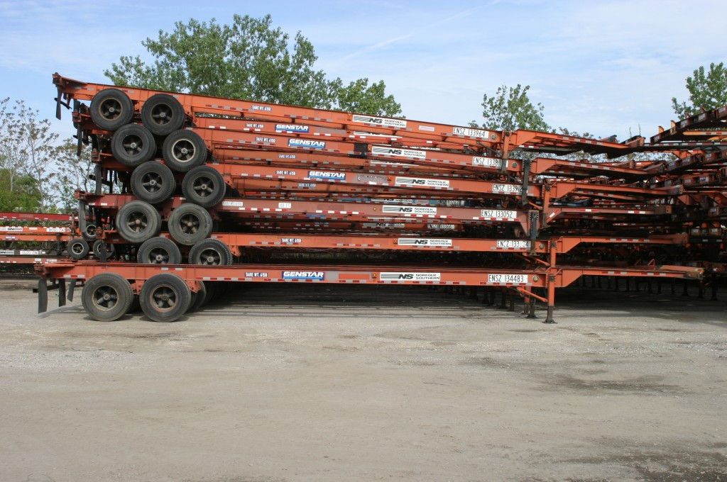 US west coast shippers will pay for chassis storage