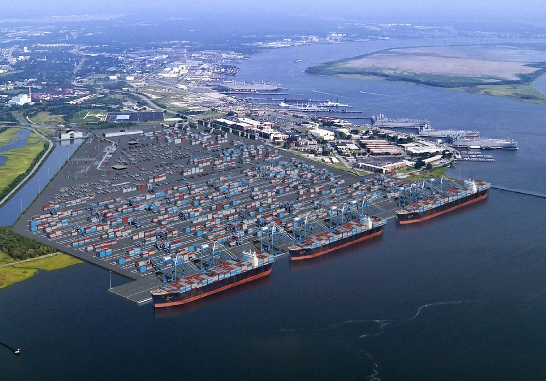 Only 3 of world's 100-million ton ports achieve growth of 5pc or more