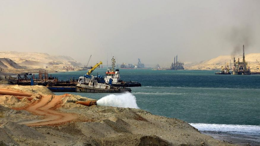 Egypt says New Suez Canal to open on August 6, 2015