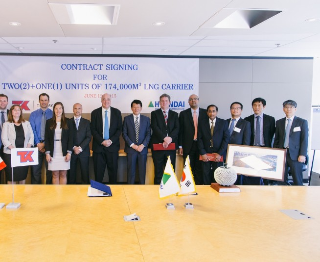 Teekay LNG Signs Charter Contracts With BP for Up to Two LNG Carrier Newbuilds