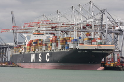 MSC returns to Southampton in 2M service after 40 years' absence