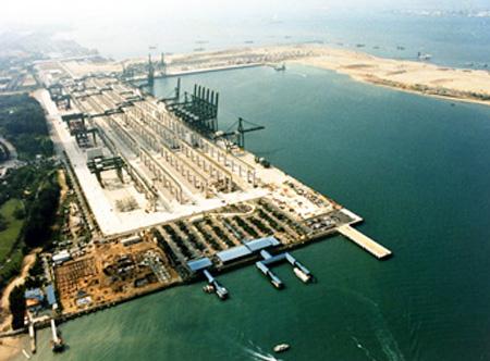 PSA has opened in Singapore Pasir Panjang container terminal