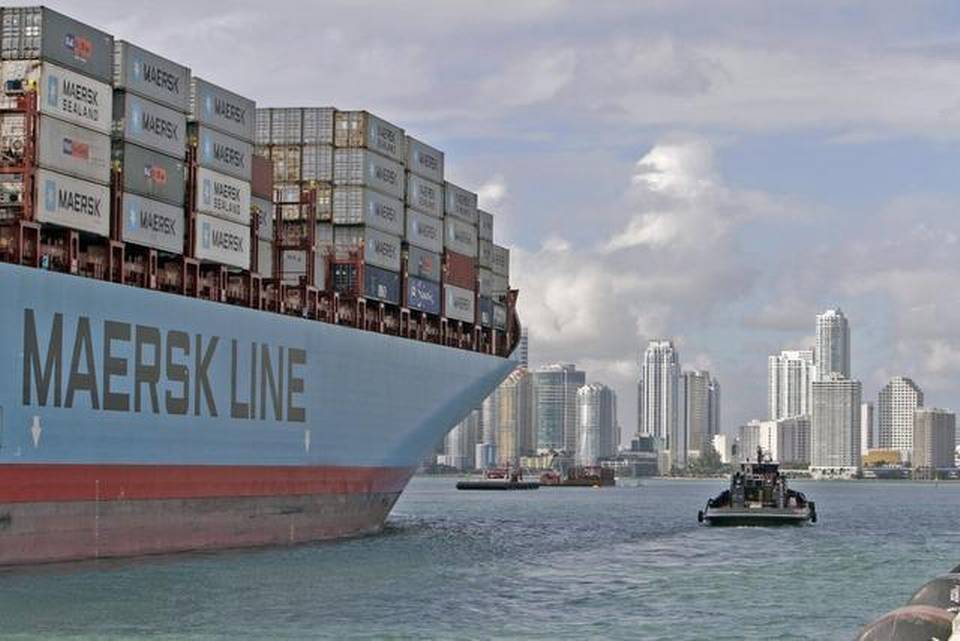 Maersk provides north Asia to north Florida service via Jacksonville