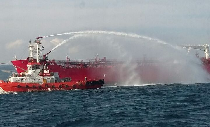 Company of colliding tanker thanks to Turkish authorities