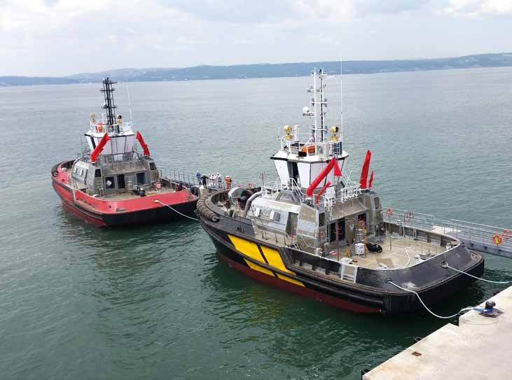 Turkey's Sanmar launches 3 new tugboats