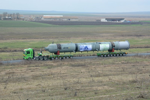 RTL orchestrates 206-tonne reactor delivery across Black Sea