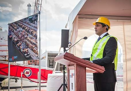 Construction starts on new container terminal in east end Montreal