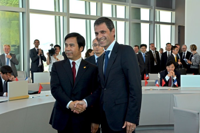 Chinese Prime Minister Li Keqiang visits CMA CGM's headquarters