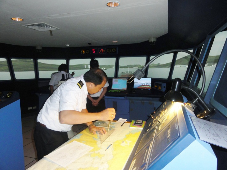 Tokyo's 'K' Line Academy installed simulator as bridge for 14,000-TEUers