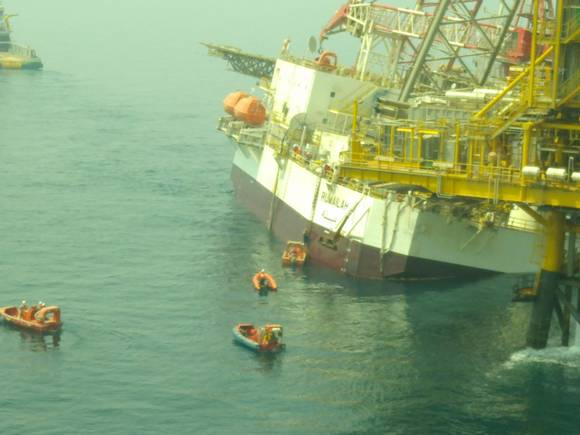 Rig Incident at Maersk Oil-run Qatar Al Shaheen Field