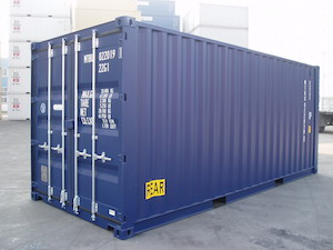 Prices for new containers have fallen to a 10-year low