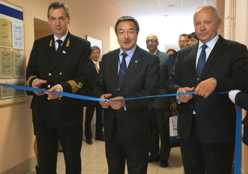 Sekimizu inaugurated the new Transas technological simulation complex