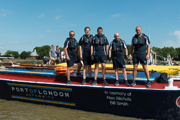 Port of London Authority team wins annual Thames barge race