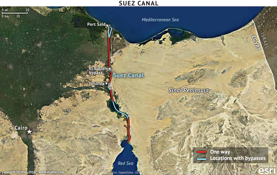 No major ship delays with Suez expansion project