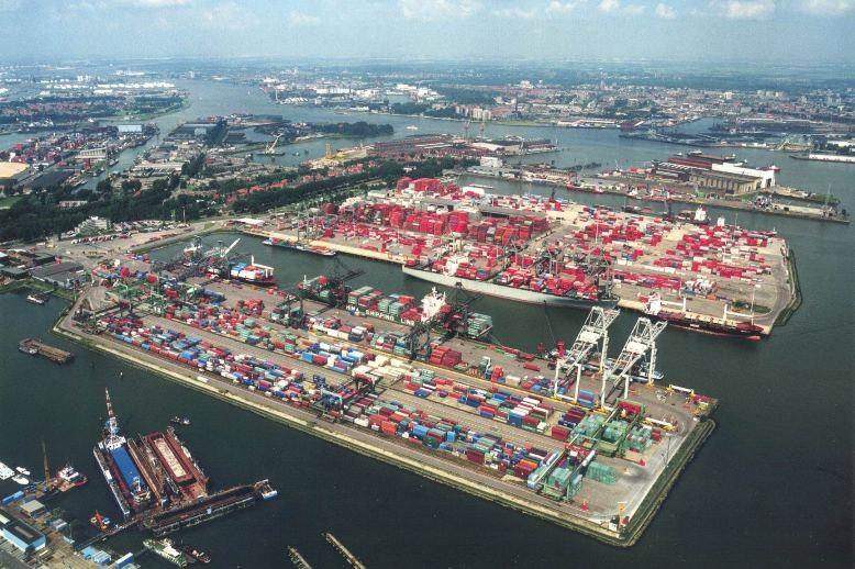 Rotterdam first half box volume up 1.6pc to 6 million TEU