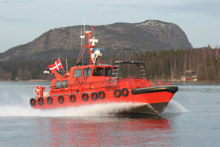 Pilot boat sank in Guldborg Sound