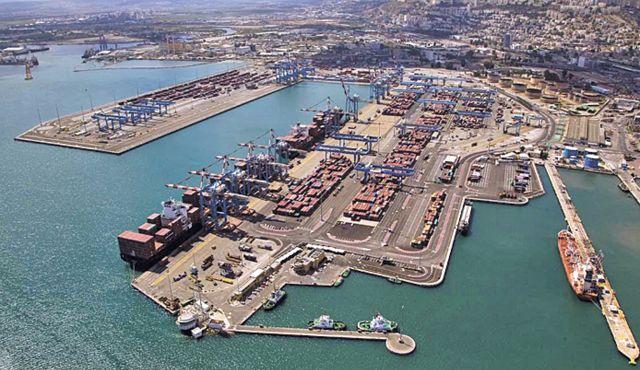 Haifa reports setting port productivity record - 74.7 moves per crane hour