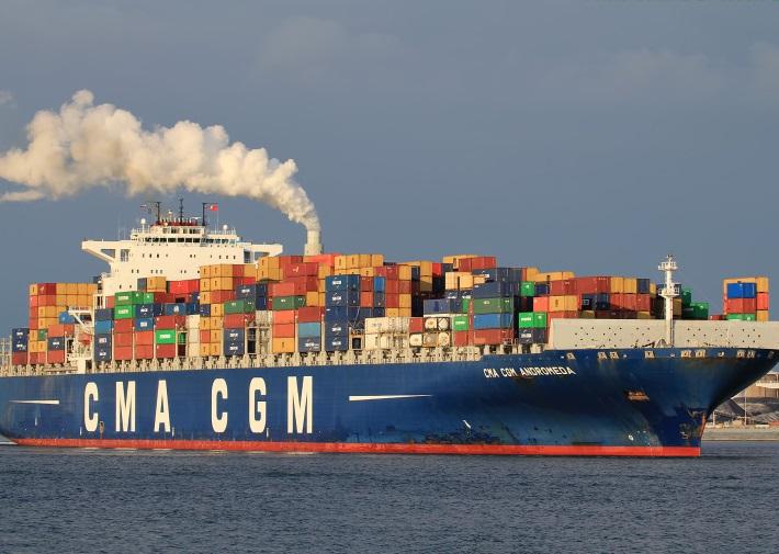 11,388-TEU CMA CGM Andromeda to make first boxship call on Iran