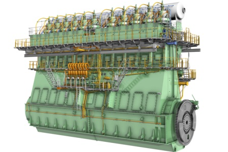Low bunker consumption engine to power 3 CMA CGM 20,600-TEUers