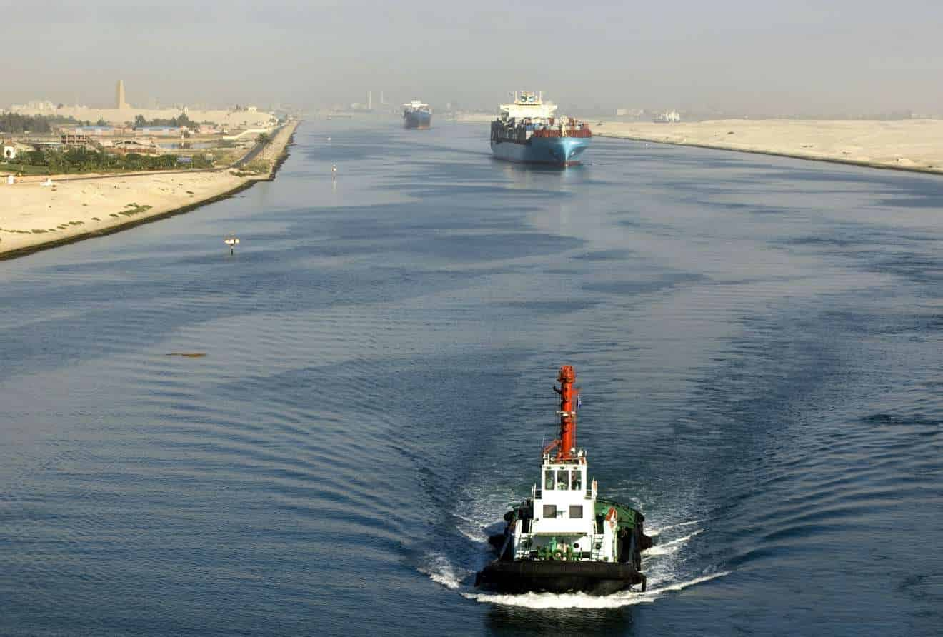 Suez Canal tests new toll system over the weekend