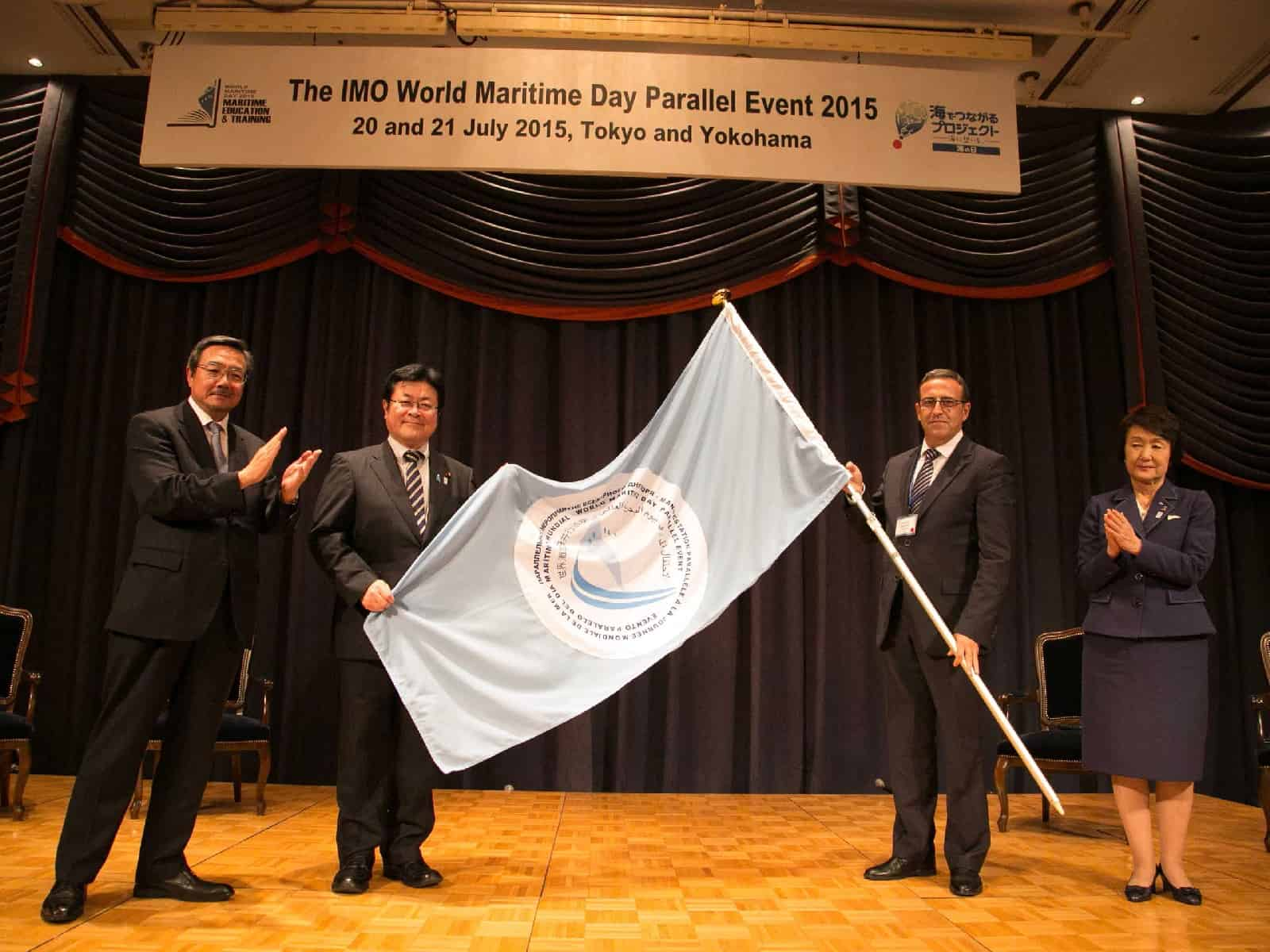 World Maritime Day Parallel Event flag handed over to Turkey