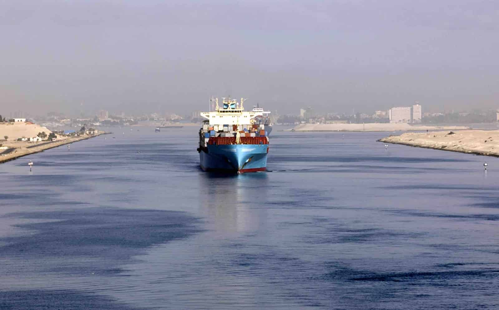 First ships cross Egypt's New Suez Canal in test-run