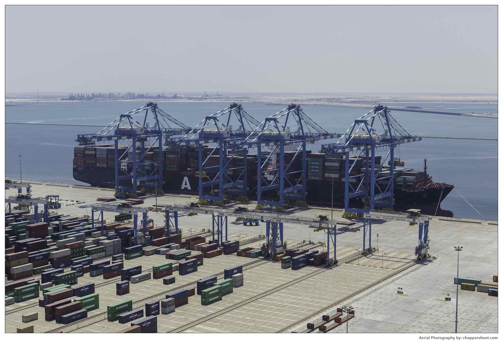 Abu Dhabi Terminals at Khalifa Port lift 3 million TEU after 3 years