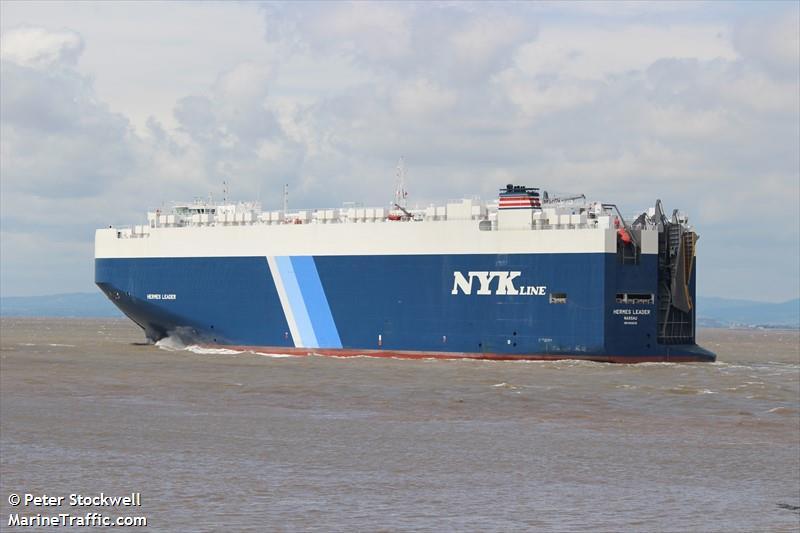NYK car carrier Hermes Leader rescues 336 from vessel in Mediterranean Sea
