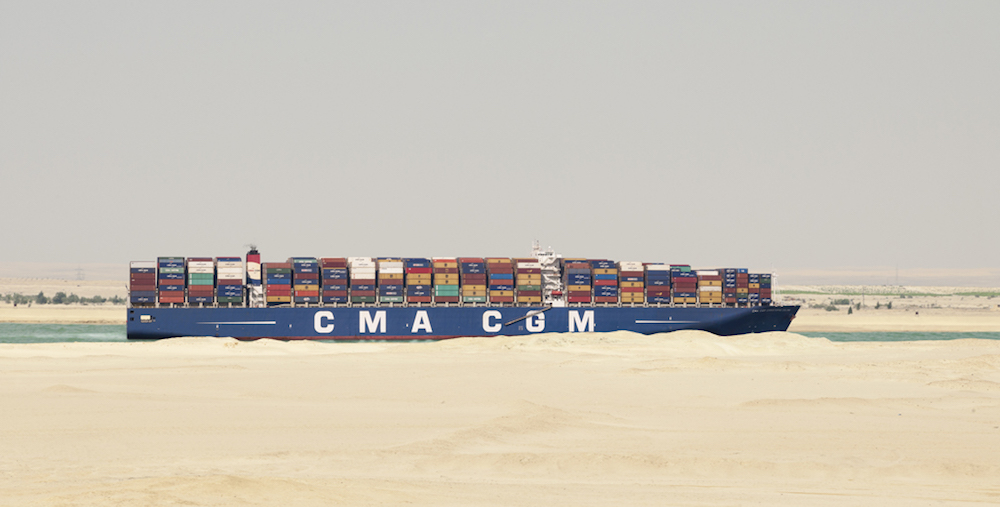 Suez Canal: an inevitable route for the CMA CGM Group