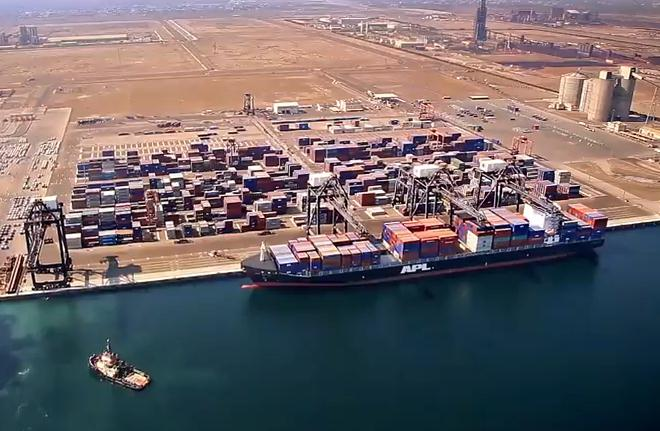 Oman container terminal to up capacity 400pc after Muscat port closes