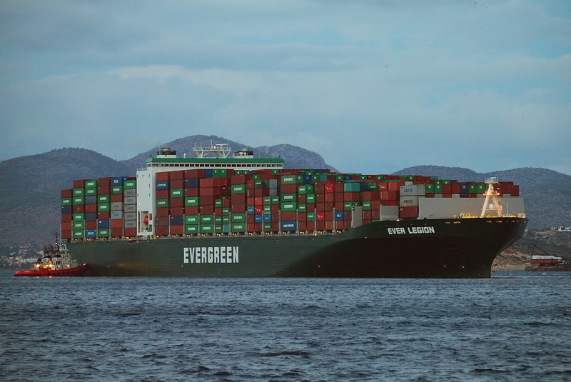 Taiwan's huge container ship to call at Iran port