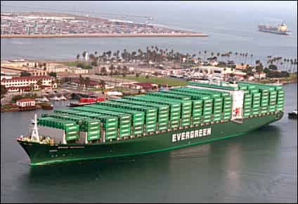 Evergreen joins others adding Iran call to Far East-Mideast service