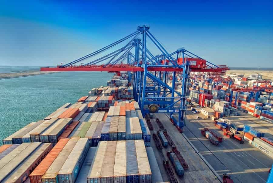 Expanded Suez to up capacity to 5.4 million TEU with 4 more APMT cranes