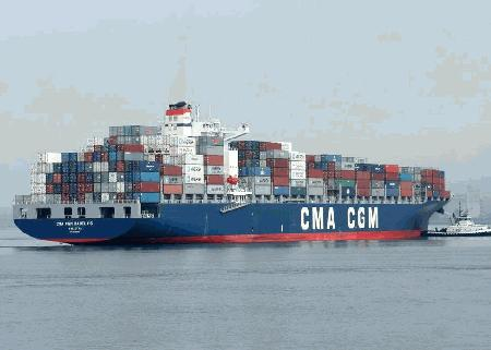 CMA CGM ups Asia-Europe rate US$950/TEU - $500/TEU to West Africa
